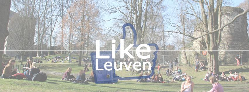 7 jongeren lanceren Like Leuven